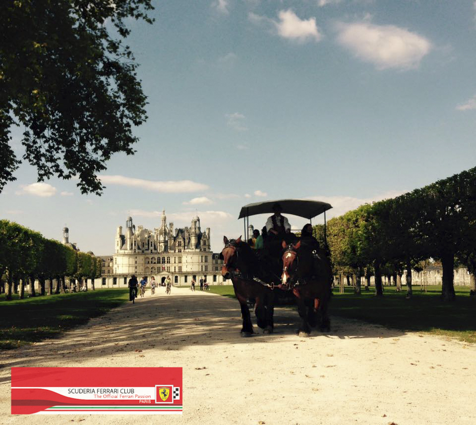 Week end Loire Chambord 2015 | Scuderia Ferrari Club Paris_3a