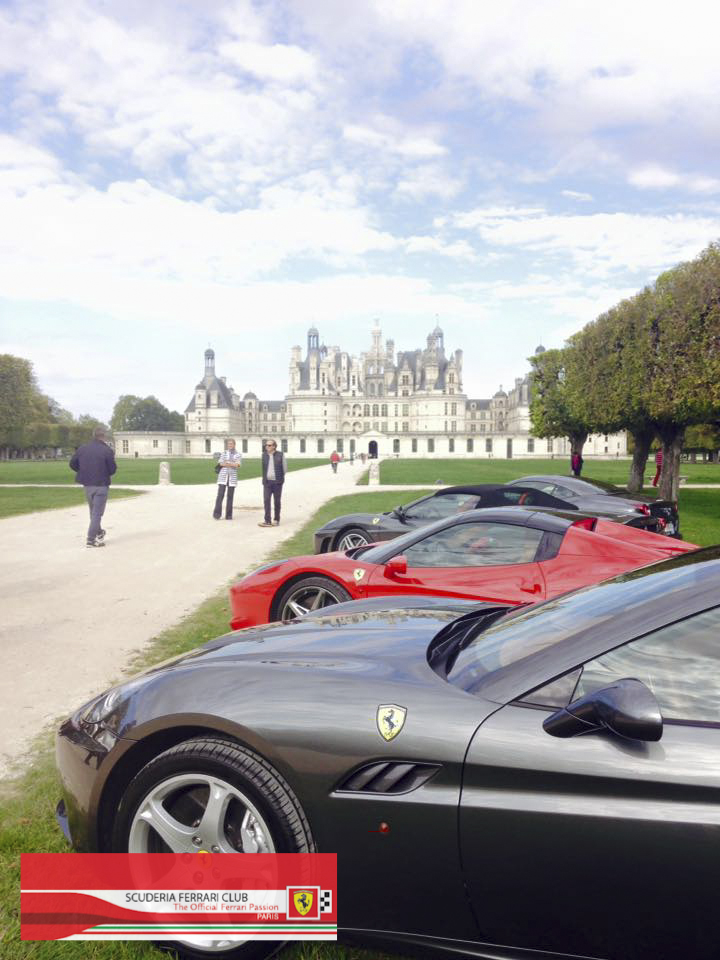 Week end Loire Chambord 2015 | Scuderia Ferrari Club Paris_4a