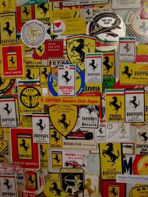 Les logos Ferrari