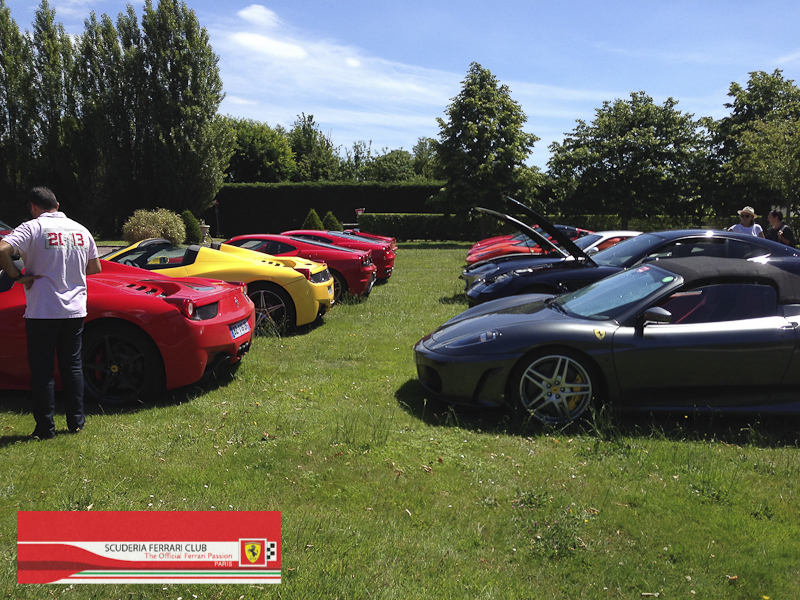 Scuderia Ferrari Club | Week end Deauville 2015-27