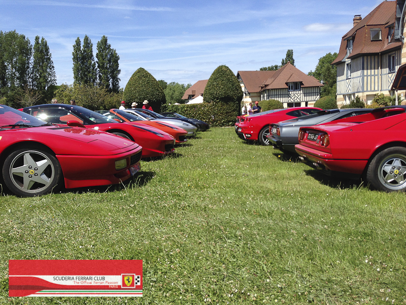 Scuderia Ferrari Club | Week end Deauville 2015-28