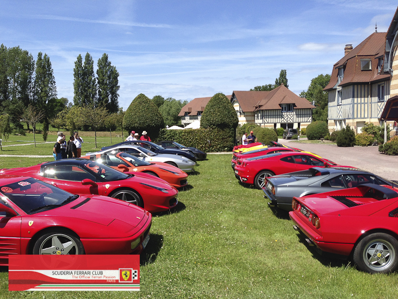 Scuderia Ferrari Club | Week end Deauville 2015-29