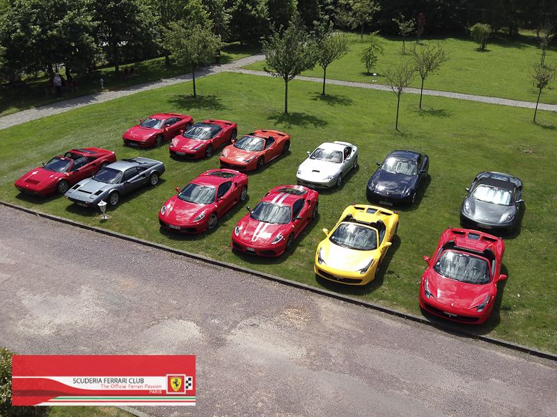 Scuderia Ferrari Club | Week end Deauville 2015-30
