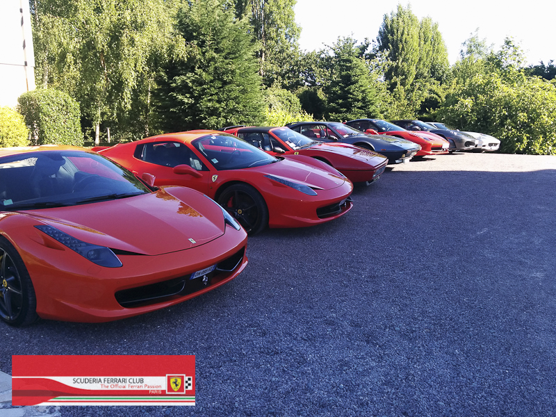 Scuderia Ferrari Club | Week end Deauville 2015-14