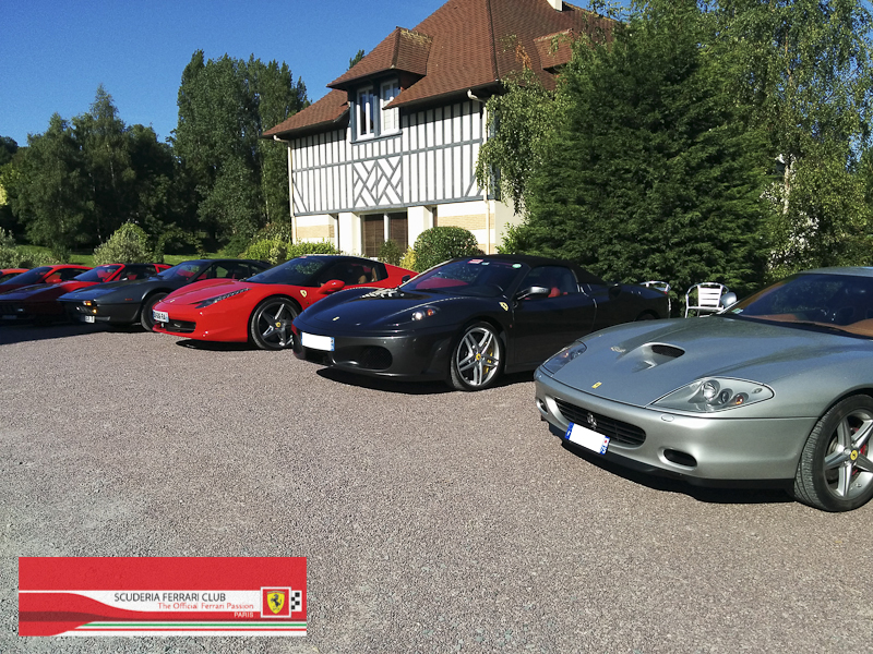 Scuderia Ferrari Club | Week end Deauville 2015-15