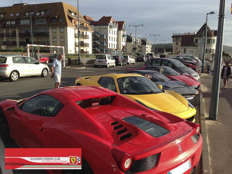Scuderia Ferrari Club | Week end Deauville 2015-16