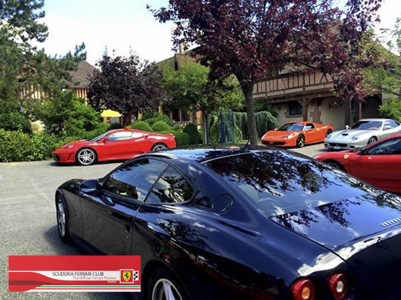 Scuderia Ferrari Club | Week end Deauville 2015-19