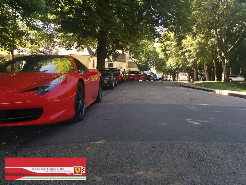 Scuderia Ferrari Club | Week end Deauville 2015-21