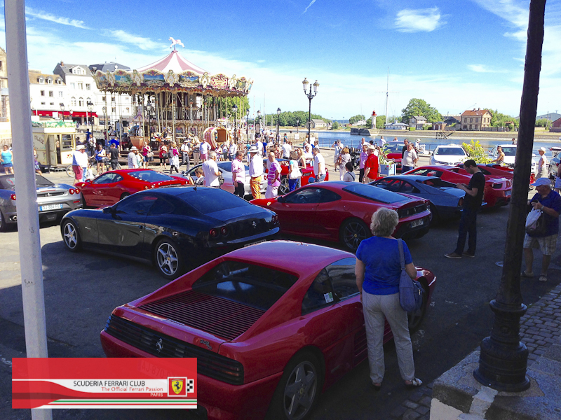 Scuderia Ferrari Club | Week end Deauville 2015-23
