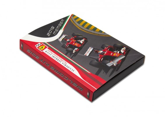 Scuderia ferrari Club welcome Kit 2015