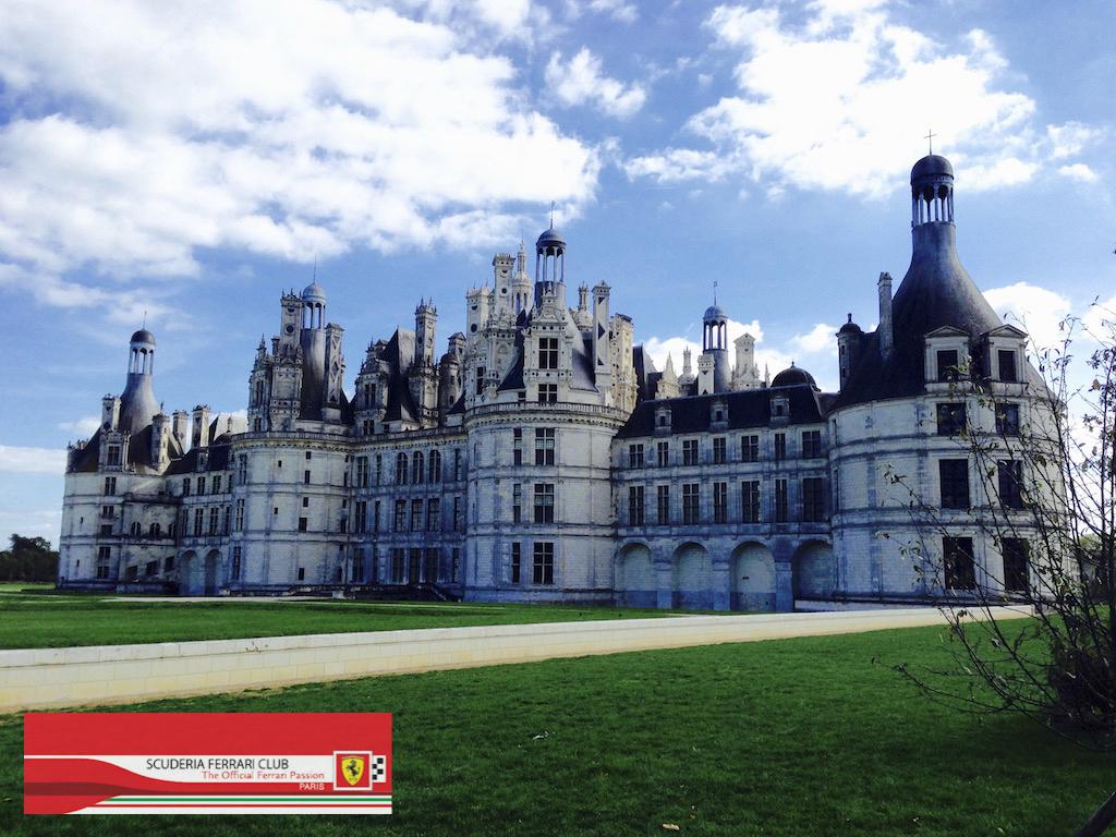Château de Chambord Scuderia Ferrari Club Paris
