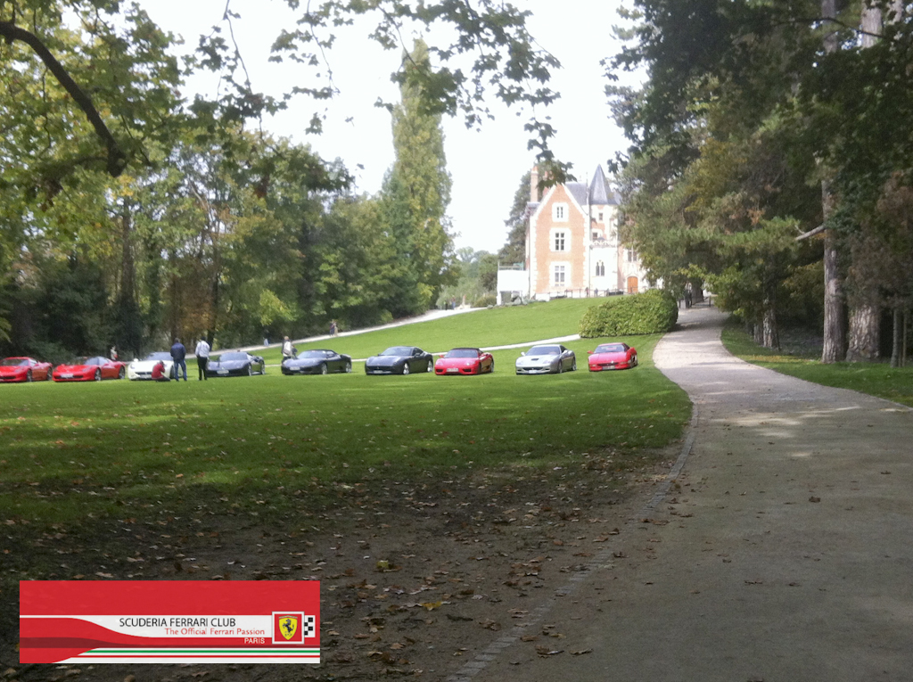 Week end Loire 2015 Clos Lucé | Scuderia Ferrari Club Paris_11