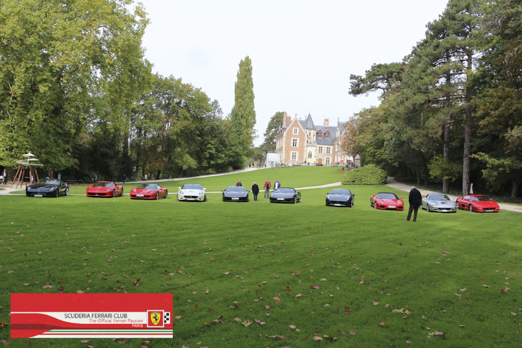 Week end Loire 2015 Clos Lucé | Scuderia Ferrari Club Paris_12