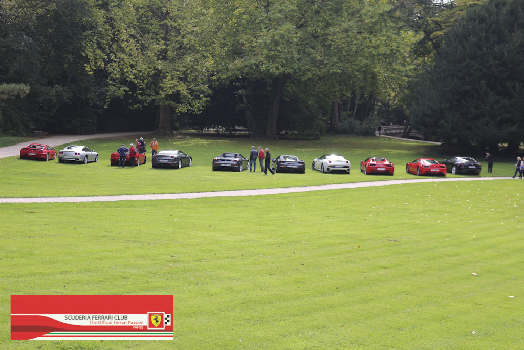 Week end Loire 2015 Clos Lucé | Scuderia Ferrari Club Paris_13