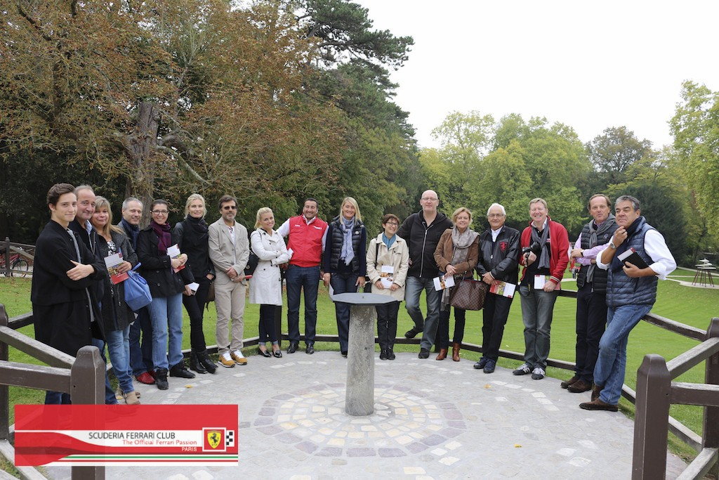 Week end Loire 2015 Clos Lucé | Scuderia Ferrari Club Paris_14
