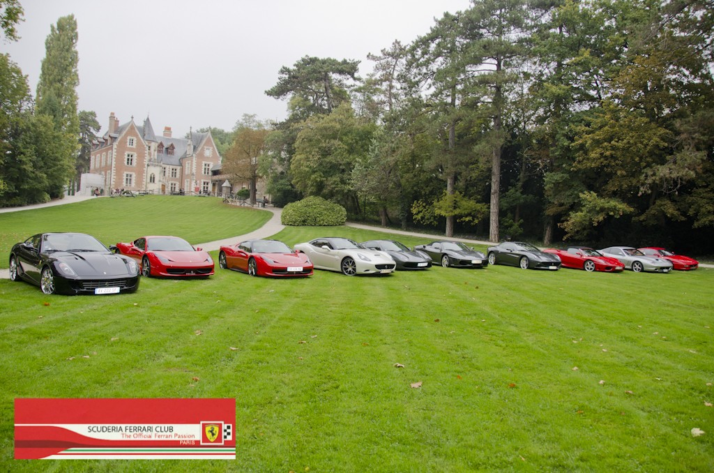 Week end Loire 2015 Clos Lucé | Scuderia Ferrari Club Paris_16