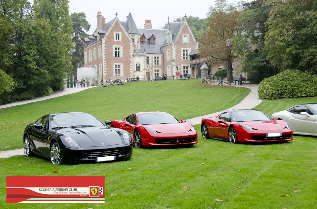 Week end Loire 2015 Clos Lucé | Scuderia Ferrari Club Paris_17