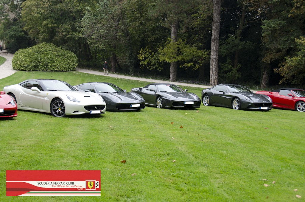 Week end Loire 2015 Clos Lucé | Scuderia Ferrari Club Paris_18