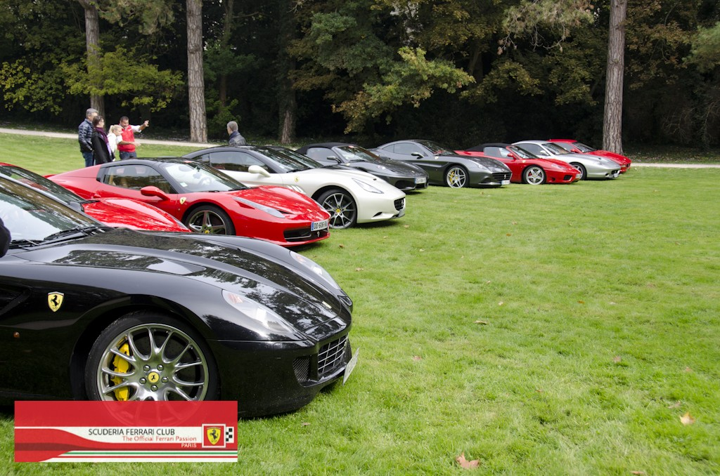 Week end Loire 2015 Clos Lucé | Scuderia Ferrari Club Paris_19