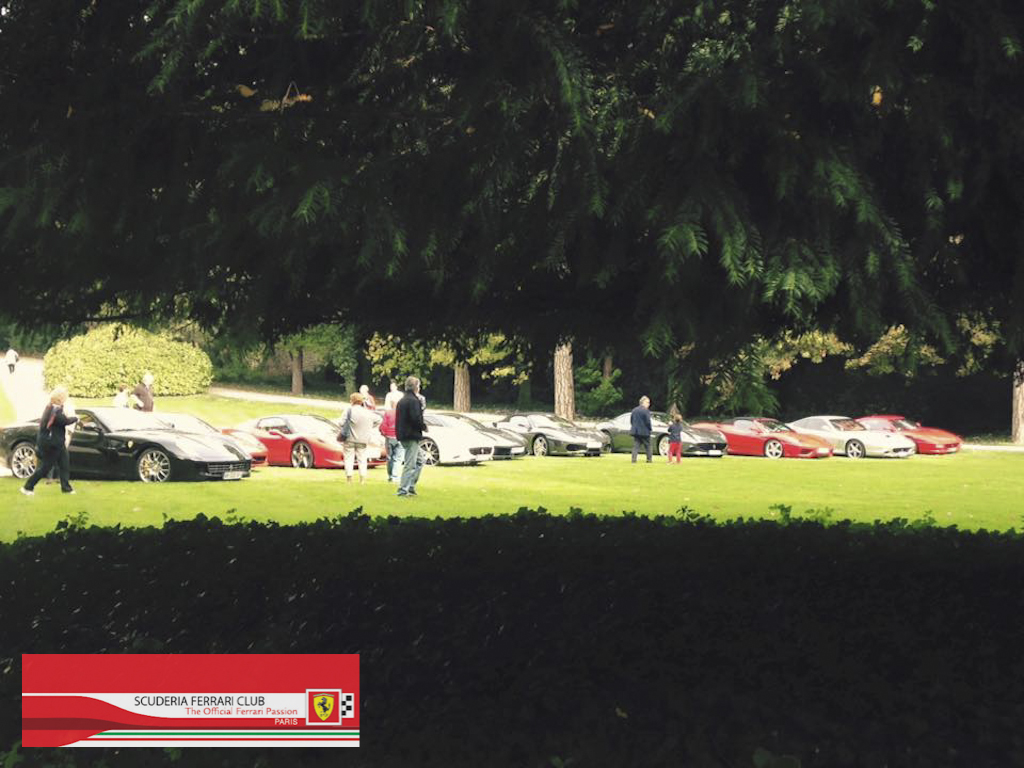 Week end Loire 2015 Clos Lucé | Scuderia Ferrari Club Paris_2