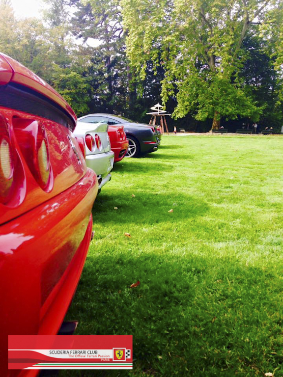 Week end Loire 2015 Clos Lucé | Scuderia Ferrari Club Paris_4