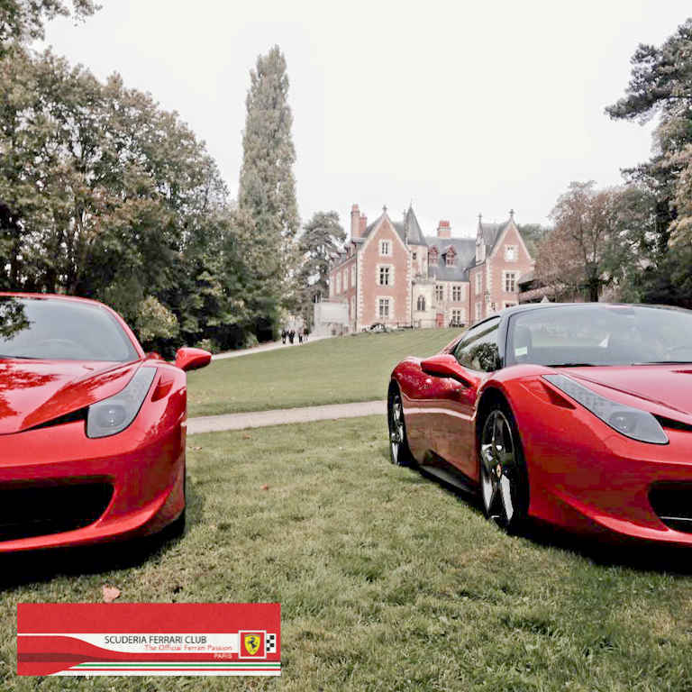 Week end Loire 2015 Clos Lucé | Scuderia Ferrari Club Paris_5