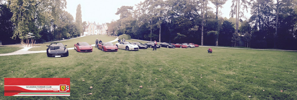 Week end Loire 2015 Clos Lucé | Scuderia Ferrari Club Paris_6