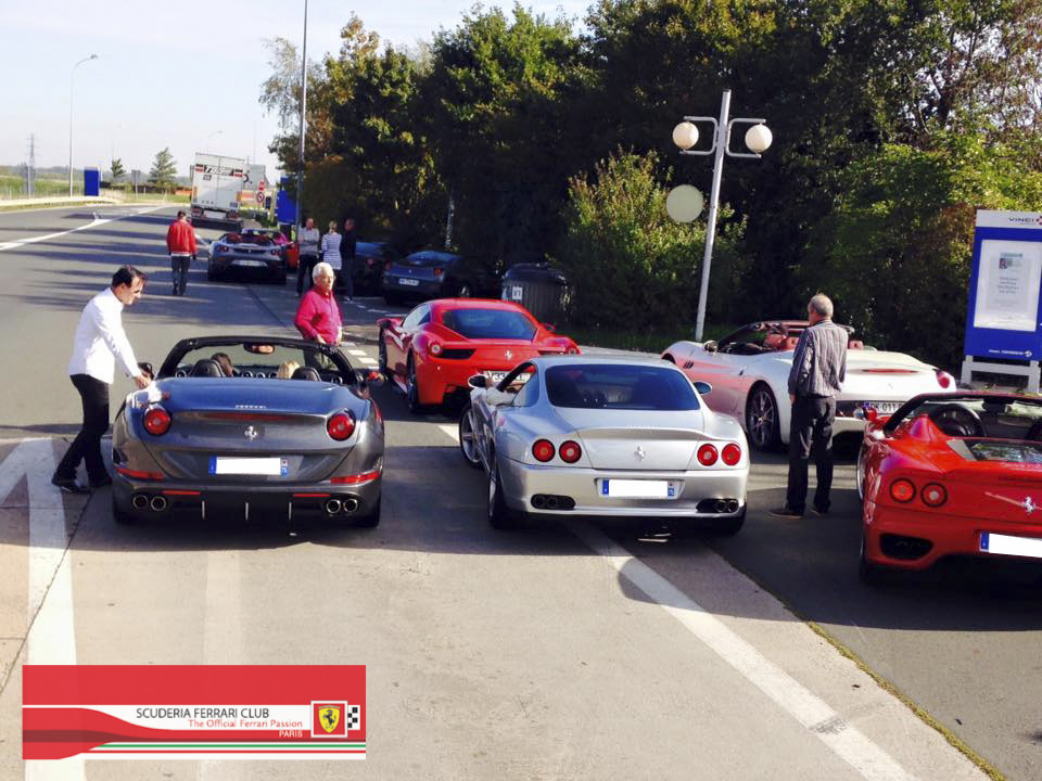 Week end Loire 2015 | Scuderia Ferrari Club Paris_3