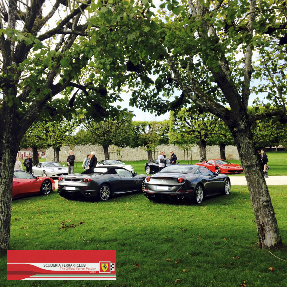 Week end Loire Chambord 2015 | Scuderia Ferrari Club Paris_1a
