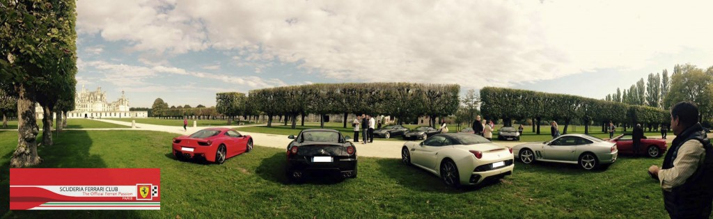 Week end Loire Chambord 2015 | Scuderia Ferrari Club Paris_2a