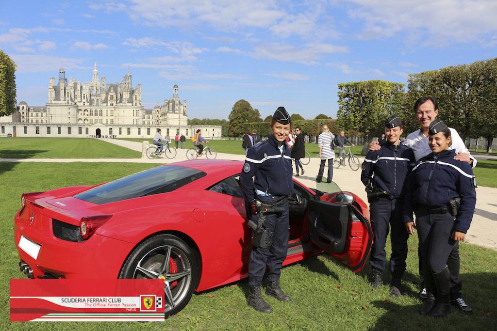 Week end Loire Chambord 2015   Scuderia Ferrari Club Paris_7a