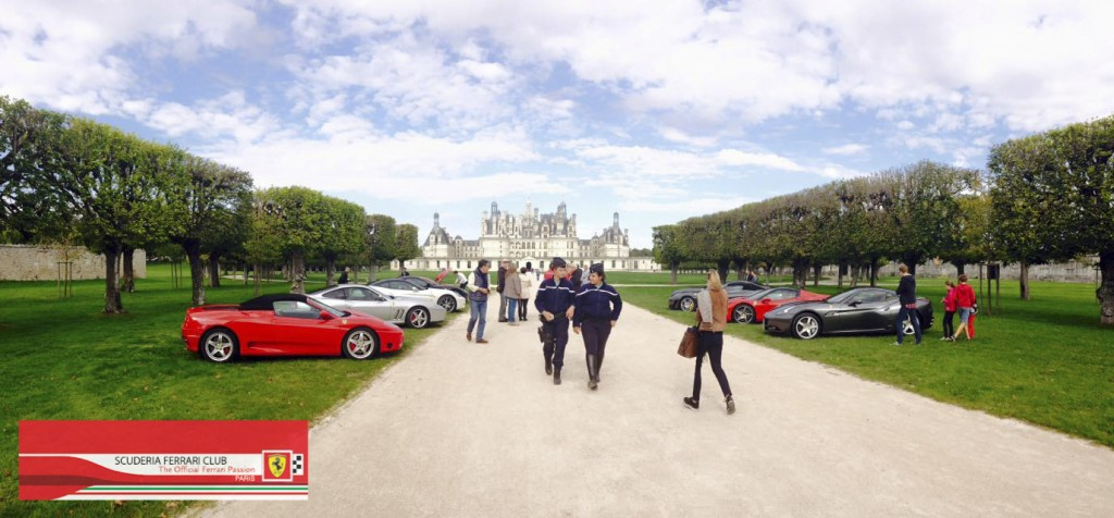 Week end Loire Chambord 2015 | Scuderia Ferrari Club Paris_8