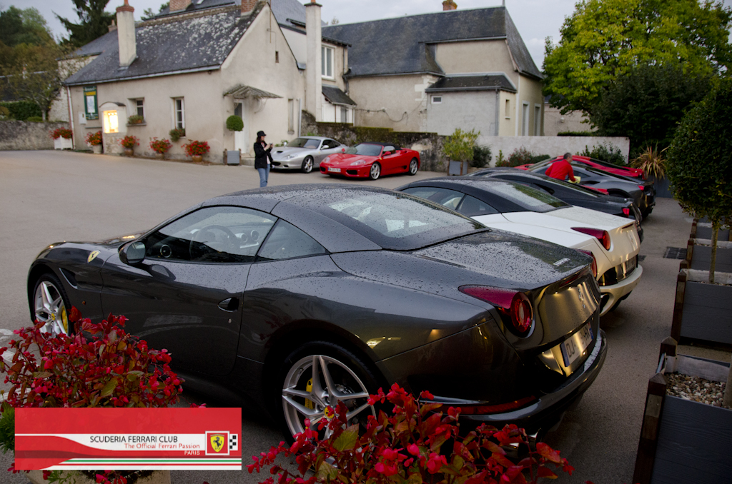 Week end Loire Hôtel Aubinière 2015 | Scuderia Ferrari Club Paris_1