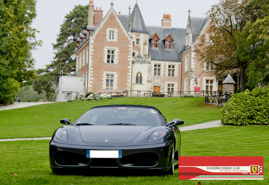 Week end Loire 2015 Clos Lucé | Scuderia Ferrari Club Paris_20a